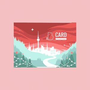 Gutscheinkarte - Weihnachtsedition
