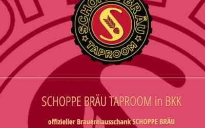 SCHOPPE BRÄU Taproom im Bierkombinat